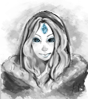 Crystal Maiden by chiffoneboo