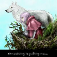 Wolf's Rain Kiba and Cheza by Miki-