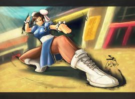 ChunLi SF4 by Aikuza