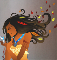 Pocahontas by revois