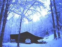 MY HOME IN THE MOUNTAINS by cameranut