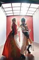 Versailles Teru and Hizaki Cosplay by lamuchan