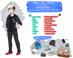 Meet the Artist! by ghostyjpg