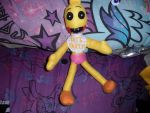 Toy Chica custom plush by AshleyFluttershy