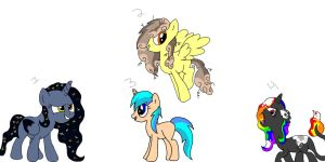 Themed Pony Adoptables by Bella-Brownies