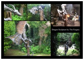 Dragon Sculpture by theforgery