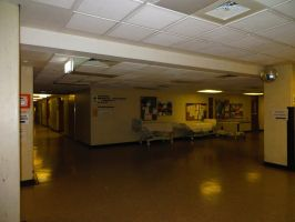 Hospital Basement by ryanthescooterguy