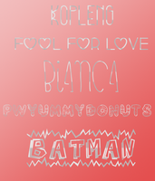 Fonts2 by CANDIY14