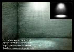 636 Stone Room Spotlight by Tigers-stock