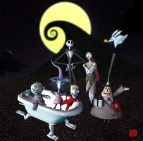 Nightmare Before Christmas 2 by GEKIMURA