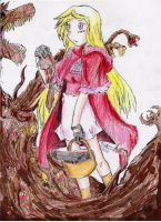 Red Riding Hood by hewhowalksdeath