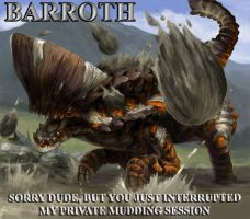 Barroth's side of story by PS-XiaoFeng