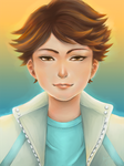 Oikawa Haikyuu by trayuy
