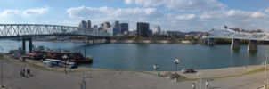 Ohio River at Cincinnati by mclanesmemories