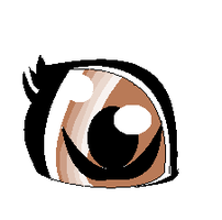 My anime eye by MaguiPinkie