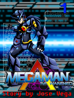 Giftart for DestinyDecade - Megaman RA cover by SilverKazeNinja