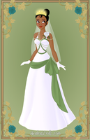 Tiana { Wedding Dress } by kawaiibrit