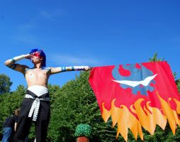 TTGL Kamina Cosplay 6. by Elffi