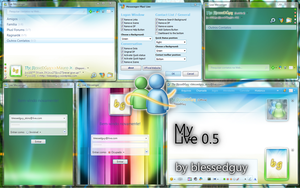 My Live Messenger 0.5 by blessedguy