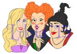 Graphic Design - Sanderson Sisters - 2015 by Lokotei
