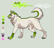 Ark reference sheet by killerlepord