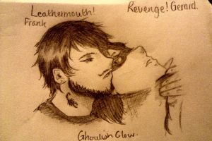 Leathermouth!FrankxRevenge!Gerard by GHOULISHGLOW