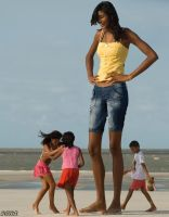 Elisany and kids by lowerrider