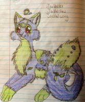 Jackelpaw colored by The-Lovestruck-Fox