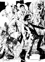 Lupin and company_inks by GothicPhobia