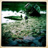 THE BAD BOAT CEMETERY by LEQUARK