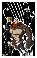 UMBRELLA ACADEMY by ferwar