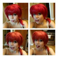 Ranma's hair--literally my favorite wig! by Heidirae1