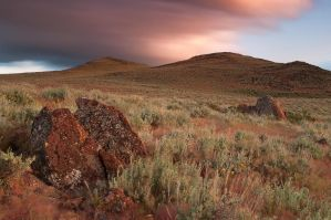 Huffaker Hills Sunset II by madrush08