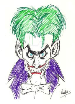 Joker by BlackWolflord666