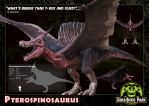 03 Pterospinosaurus by LDN-RDNT