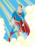 Superman Vector Style by calslayton