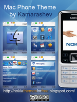 Mac OS Theme for Nokia s40 by Kamarashev