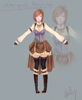 Steampunk Adoptable Auction -CLOSED- by Vellevet