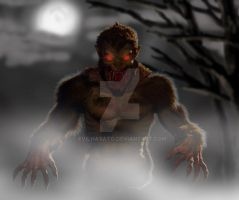 Werewolf Final Render by EvilHayato