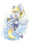Anthro Derpy by PegaSisters82
