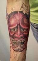 red hannya.... by graynd