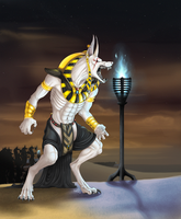 .The White Anubis. by Hakaishi