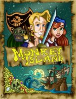 Monkey Island by Shmivv