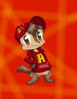 Request: Alvin with his cap by TheChipMunksFan