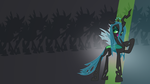 Queen Chrysalis Wallpaper by RDbrony16
