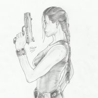 Lara Croft - Tomb Raider by MarcioSouza