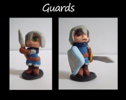 figures -- guards by Xakriuth