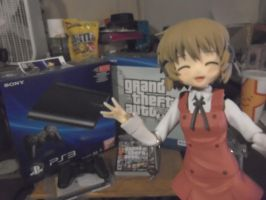 PS3 arrived and Yuno is happy ^u^ by RJAce1014