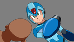 Megaman and Blank Base by AraragiBases