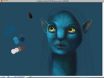 Avatar Fan Art WIP by NoseGraze